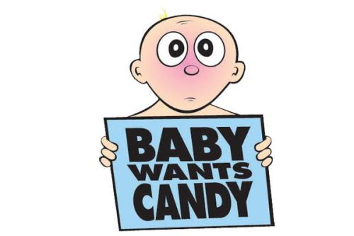 Baby-Wants-Candy