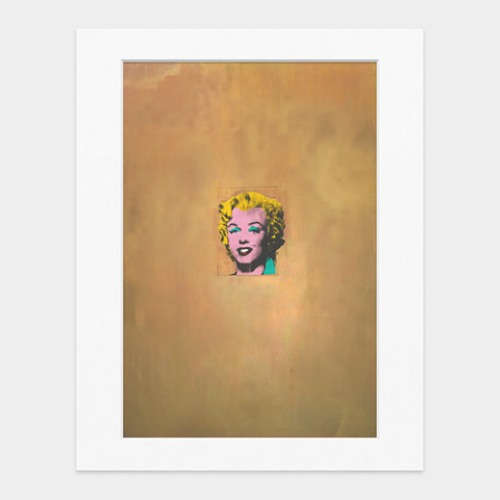 51331_A2_Matted_Print_Warhol_Gold_Marilyn_Monroe