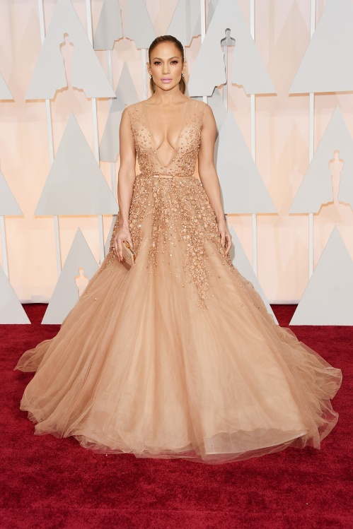 Jennifer Lopez, in Elie Saab Haute Couture